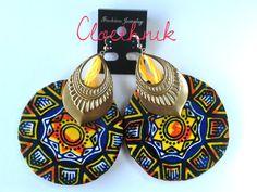 """www.cewax.fr aime la boutique de Cloethnik sur Etsy /Boucles D'Oreilles """"stars"""" Plaqué Or14k et Laiton doré """" ©CloEthniK"""