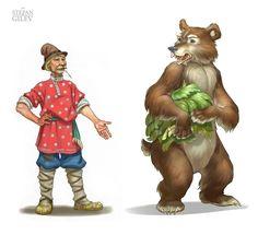 Гилёв Степан ( Stepan Gilev ). Сообщество иллюстраторов | Иллюстрация Персонажи для детского