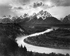 Ansel Adams was amazing at capturing nature in black and white photos. I admire him greatly.