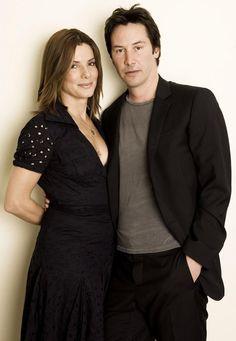 Keanu and Sandra                                                                                                                                                      More
