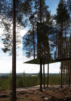 The nature merging design of the hotel is just fantastic