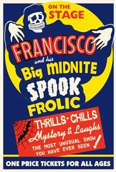 05 Oct - Big Midnite Spook Frolic - Thrills, Chills, Mystery & Laughs #HalloweenCountdown