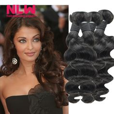 Buy Bouncy Full 8A Top Grade Free Shipping Loose Wave Malaysia Virgin Hair N.L.W  Products Top Sale 4 bundles for Black Women Cheap from Reliable bundle bag suppliers on NLWHair Store