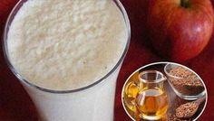 Batido de yogur manzana y linaza para bajar de peso - Salud Eficaz