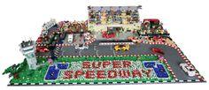 Lego Town Racetrack