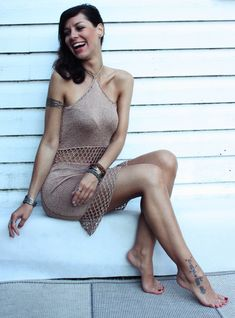Sukienka boho handmade