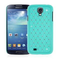 Samsung Galaxy S4 / GS4 - Bling Accent Mint (EMPIRE GLITZ Slim-Fit Case)