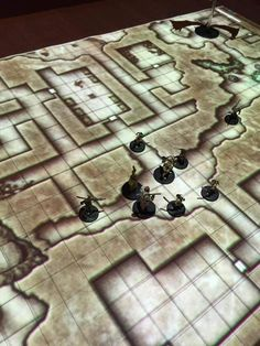This Digital, Projected Dungeons and Dragons Map Is A Natural 20