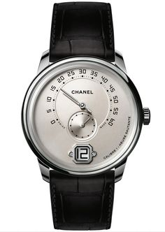 """#Horology - #Luxury - #Chanel unveil its brand new #MonsieurDeChanel - #Watch with """"Jumping hour"""" complication - August 2016 ---"""