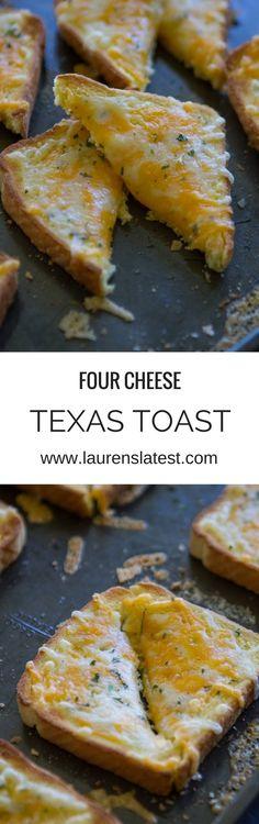 Four Cheese Texas Toast | Lauren's Latest