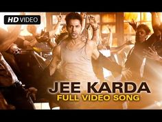 ▶ Jee Karda Official Full Video Song | Badlapur | Varun Dhawan, Yami Gautam - YouTube