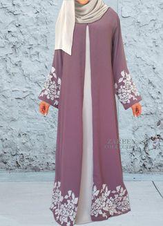zareen collection leyah embroidered abaya, luxury designer abayas, buy abayas on. - # Source by dresses muslim Islamic Fashion, Muslim Fashion, Modest Fashion, Fashion Outfits, Uk Fashion, Vintage Fashion, Modest Outfits, Modest Wear, Modest Clothing
