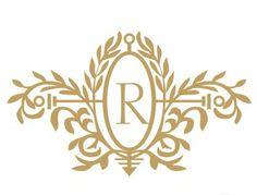 Royal Elegance Monogram Wall Decal