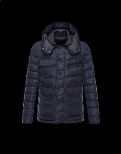 parajumpers winterjacke, outlet italien Moncler RIVER Herren Mantel Für Ihn Dunkelblau Polyamid 41456750WW sale