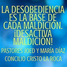 La desobediencia es la base de cada maldición. ¡Desactiva maldición!