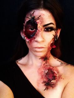 Loving this SFX Makeup Look!! By lisabmakeupartistry