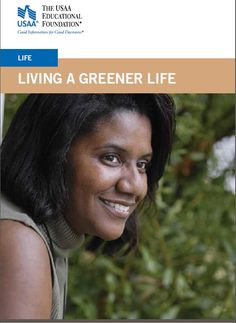 """""""Green living"""" is a trendy term, but the idea is nothing new. #EarthDay #usaa #education #family #greenlife"""