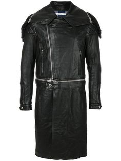 Givenchy fitted biker coat