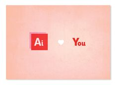 For Typography Geeks: Adorable Valentine's Day Cards by joanna behar