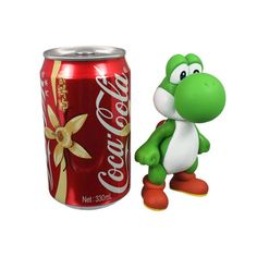 5' Mini Super Mario Bros YOSHI Poseable Figure Doll Green Toy Gifts NEW #UnbrandedGeneric