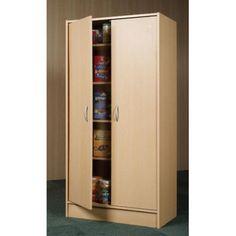 "MYLEX 60"" Kitchen Pantry - Finish: Riverstone Maple 63"" x 30"" replace stove"