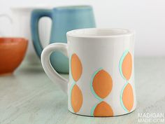 Painted Pattern Mug | Maker Crate