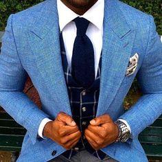 Style Gentleman, Gentleman Mode, Sharp Dressed Man, Well Dressed Men, Mens Attire, Mens Suits, Suit Men, Look Man, La Mode Masculine