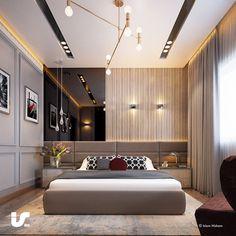Ceiling Design Living Room, Bedroom False Ceiling Design, Master Bedroom Interior, Bedroom Closet Design, Bedroom Furniture Design, Bedroom Ceiling, Modern Luxury Bedroom, Luxury Bedroom Design, Luxurious Bedrooms