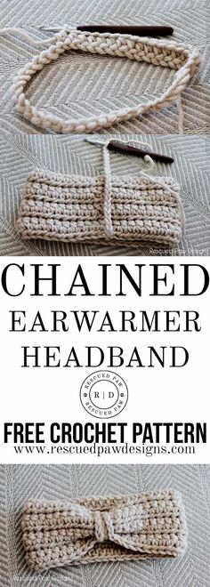 This free crochet ear warmer pattern is the perfect way to stay warm in the chilly winter months. This crochet ear warmer headband pattern is a project that is quick, easy and would be perfect to give as a gift! This really is a great crochet ear warmer pattern for beginners to try. Try the Free Crochet Warmer Pattern