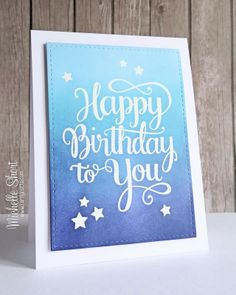 The Card Grotto: Happy Birthday To You & A Yay!