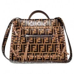 b17d34c6c Buy your runaway leather bag Fendi on Vestiaire Collective, the luxury  consignment store online. Second-hand Runaway leather bag Fendi Camel in  Leather ...