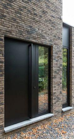 Modern Entrance Door, Main Entrance Door Design, Modern Front Door, Front Door Entrance, House Front Door, Front Door Design, My Home Design, House Design, Contemporary Front Doors