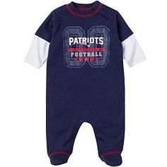 New England Patriots Sleep   Play - Baby Nfl New England Patriots 6b39dacbf