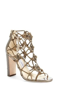 Jimmy Choo 'Trickle' Caged Sandal (Women) available at #Nordstrom