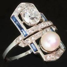 1920 jewelry art deco - Buscar con Google