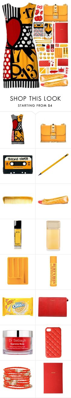 """""""2187 // A u r i g a"""" by arierrefatir ❤ liked on Polyvore featuring Moschino, Valentino, ASOS, Case-Mate, Hermès, Prada, Chanel, Cartier, Guzzini and Burt's Bees"""