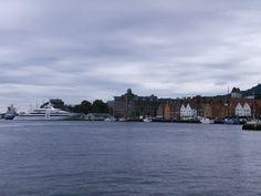 Bergen -krzywe domki