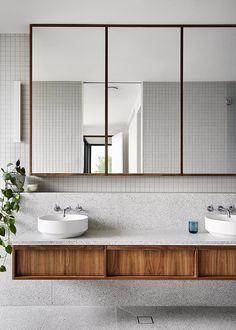 Nachhaltiges Design, The Design Files, Design Blog, Bath Design, Design Ideas, Bad Inspiration, Bathroom Inspiration, Bathroom Drawing, Ideas Baños