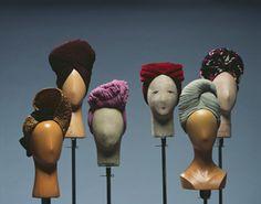 1940s Turbans