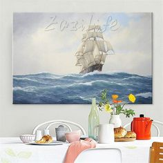 Cheap art pictures, Buy Quality picture for living room directly from China hand painted Suppliers: Hand painted canvas oil paintings Cheap large boat modern abstract oil painting wall decor Art pictures for living room 9 Hand Painted Canvas, Canvas Frame, Cheap Paintings, Oil Paintings, Cheap Art, Living Room Pictures, Oil Painting Abstract, Art Pictures, Wall Art Decor