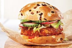 Sweet, Sour and Sultry Turkey Burgers. Gourmet burgers are the 'it food' this summer!