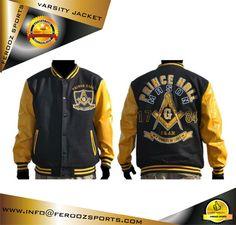 5cb5c81ec01 Mason Prince Hall Varstiy Jacket 100% Woolen Polyester lettermen baseball  college varsity jacket with