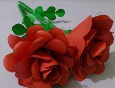 Kağıttan GÜL yapmak origami gül yapımı