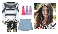 """""""Untitled #12433"""" by jayda365 ❤ liked on Polyvore featuring beauty, Jaeger, Chicnova Fashion, Melissa, Crabtree & Evelyn and springglow"""