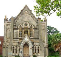 Gothic Revival Style - Galveston, Texas