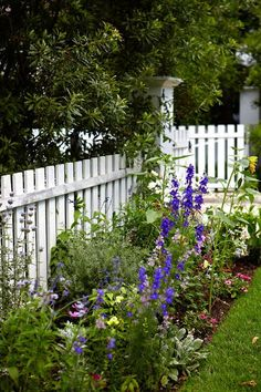 12 Charming Picket Fence Ideas - Town & Country Living