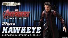 ToyzMag.com » S.H.Figuarts Hawkeye – les images