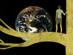 Andando de mundo em mundo,  saltando de planeta em planeta,   atrás de uma galáxia que me pertença.    Texto: Jota Rezende  https://www.facebook.com/pages/Num-Lat%C3%ADbulo-Sozinho/320444891321607?fref=ts    Imagem: Toni Demuro
