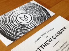 [ texture + logo + simple + design ]  #Businesscards