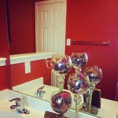My Bathroom Gold Bathroomred